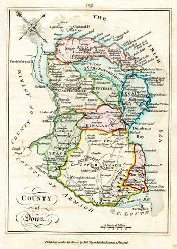SCALE, Bernard. An Hibernian Atlas; or, General Description of the Kingdom of Ireland.