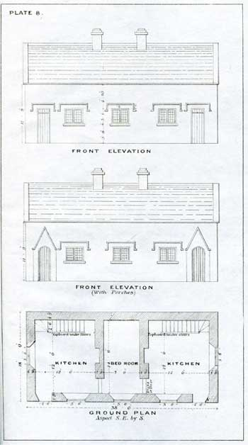 [TRENCH, C.J.] Plans of Cottages for Agricultural Labourers in Ireland.