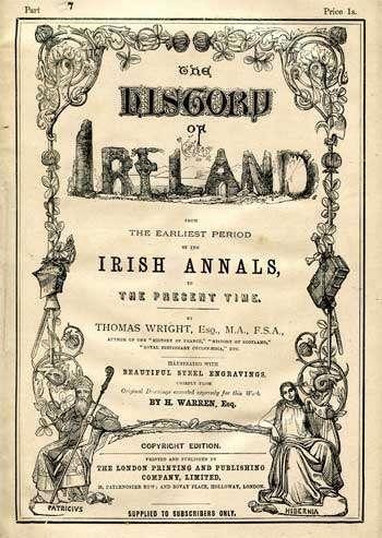 WRIGHT, Thomas. Esq. The History of Ireland.