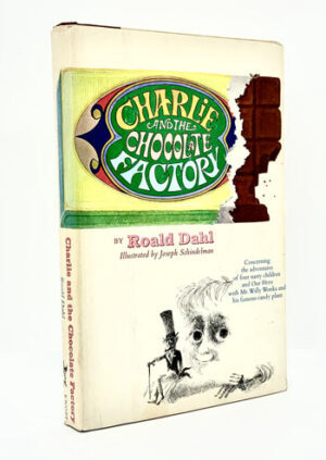 DAHL, Roald: Charlie and the Chocolate Factory, with tipped-In signature of Roald Dahl.