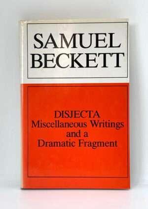 BECKETT, Samuel: Disjecta