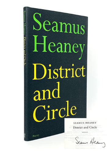 Seamus Heaney, District and Circle. [SIGNED]