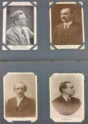EASTER RISING POSTCARDS A very substantial collection of 108 postcards of the leading participants in the Easter Rebellion.