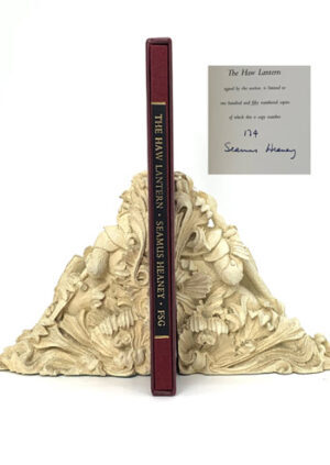 HEANEY, Seamus. The Haw Lantern. SIGNED LIMITED EDITION.
