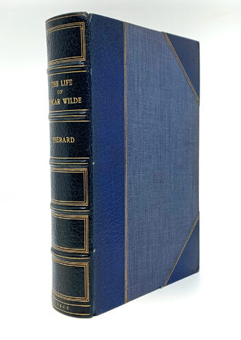 [WILDE, Oscar] [WILDE, Oscar] The Life of Oscar Wilde By Robert Harborough Sherard.