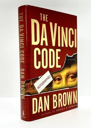 BROWN, Dan. The Da Vinci Code [Signed first edition].