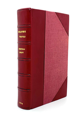 SWIFT, Jonathan Gulliver's Travels and Selected Writings in Prose and Verse.