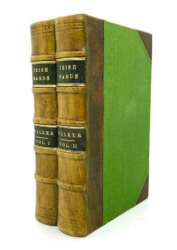 WALKER, Joseph C. Historical Memoirs of the Irish Bards.