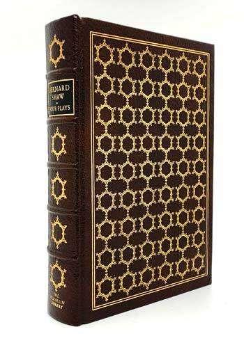SHAW, George Bernard: Four Plays (The Devil's Disciple, Man and Superman, Pygmalion and Saint Joan).