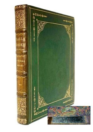 MOORE, Thomas. Lalla Rookh, an Oriental Romance. First edition [WITH FORE-EDGE PAINTING].