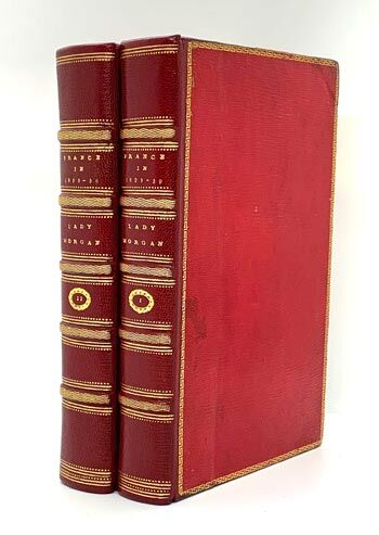 MORGAN, Lady. France. Two volumes 1817.