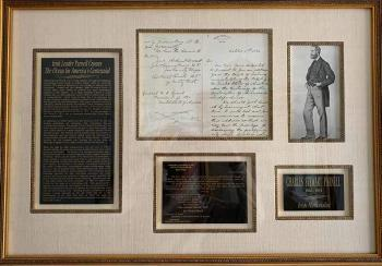 An Autographed Letter Signed from John O'Connor Power to General Ulysses S. Grant