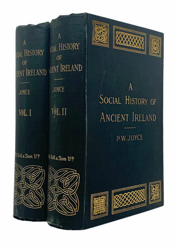 JOYCE, P.W.A Social History of Ancient Ireland.