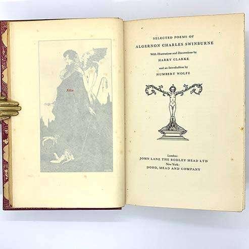 [SWINBURNE POEMS]Selected Poems of Algernon Charles Swinburne