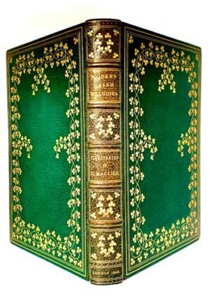 MOORE, Thomas.Moore's Irish Melodies [A SUMPTUOUS PRODUCTION, IN AN APPROPRIATELY ELABORATE BINDING].