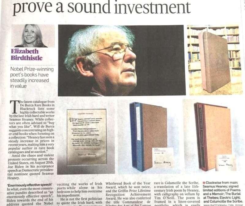 The Irish Times Newspaper Article
