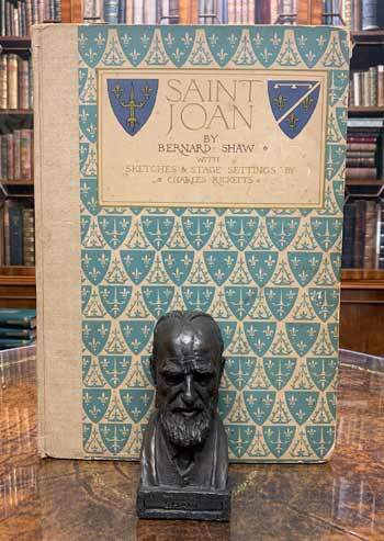 SHAW, George Bernard. Saint Joan - Inscribed Limited Edition.
