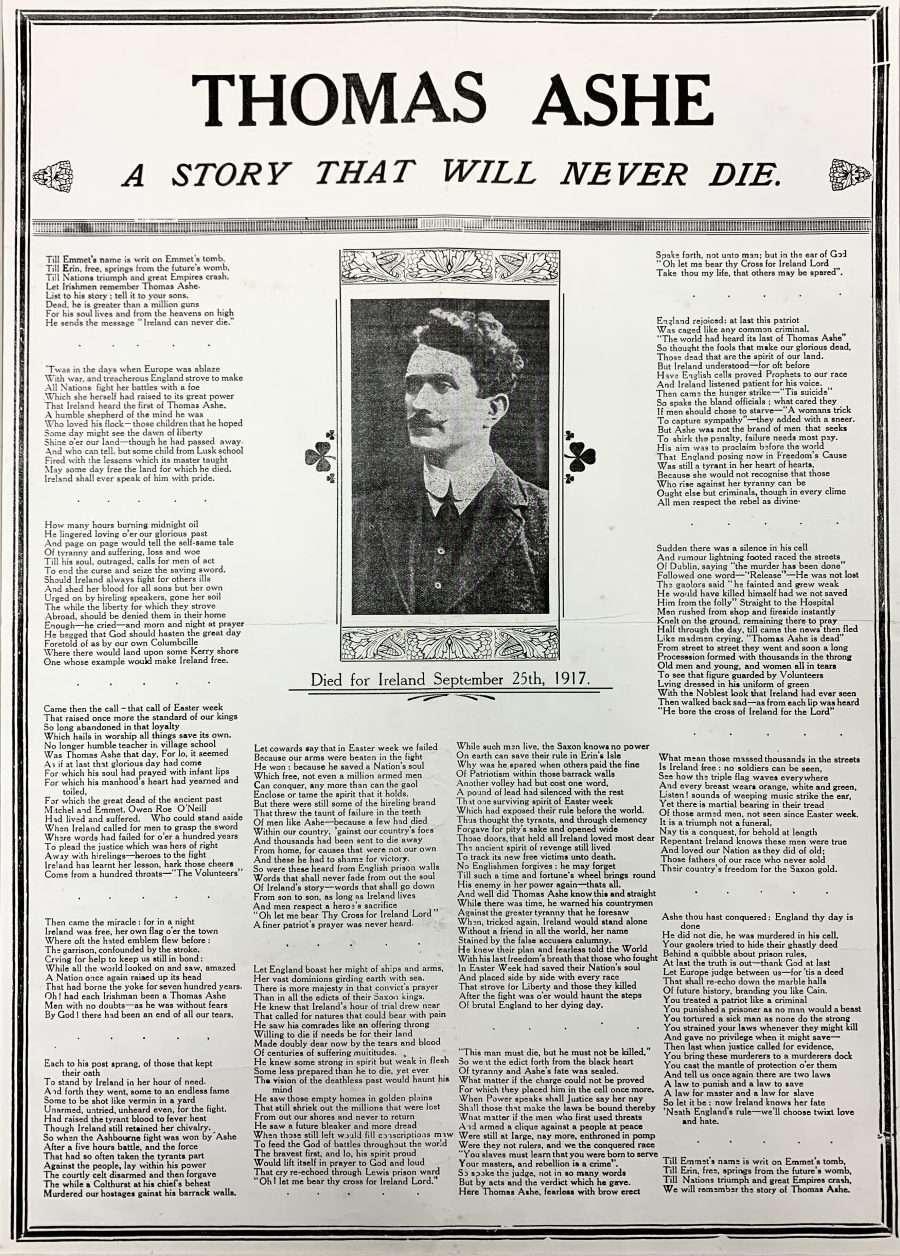 A rare print of republican Thomas Ashe
