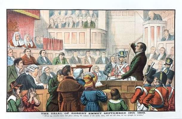 The Trial of Robert Emmet, September 19th 1803.